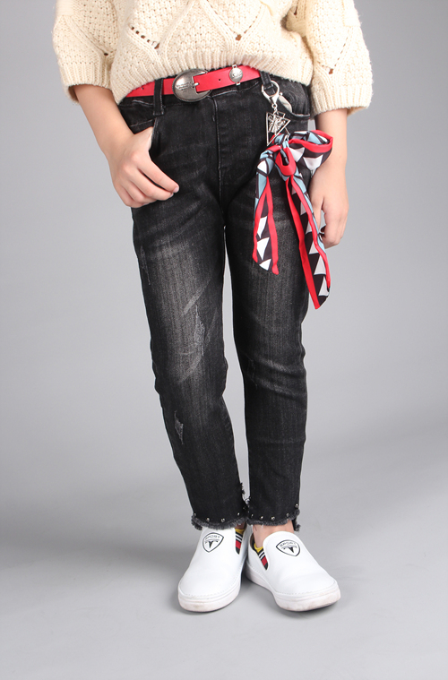 Elastic Girls Jeans on Sale OEM