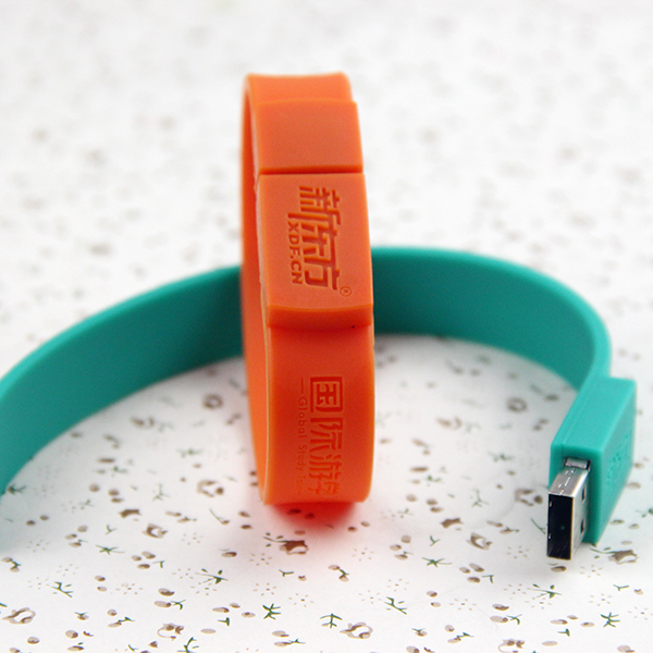 2gb Surprise Gift Waterproof Bracelet USB Memory