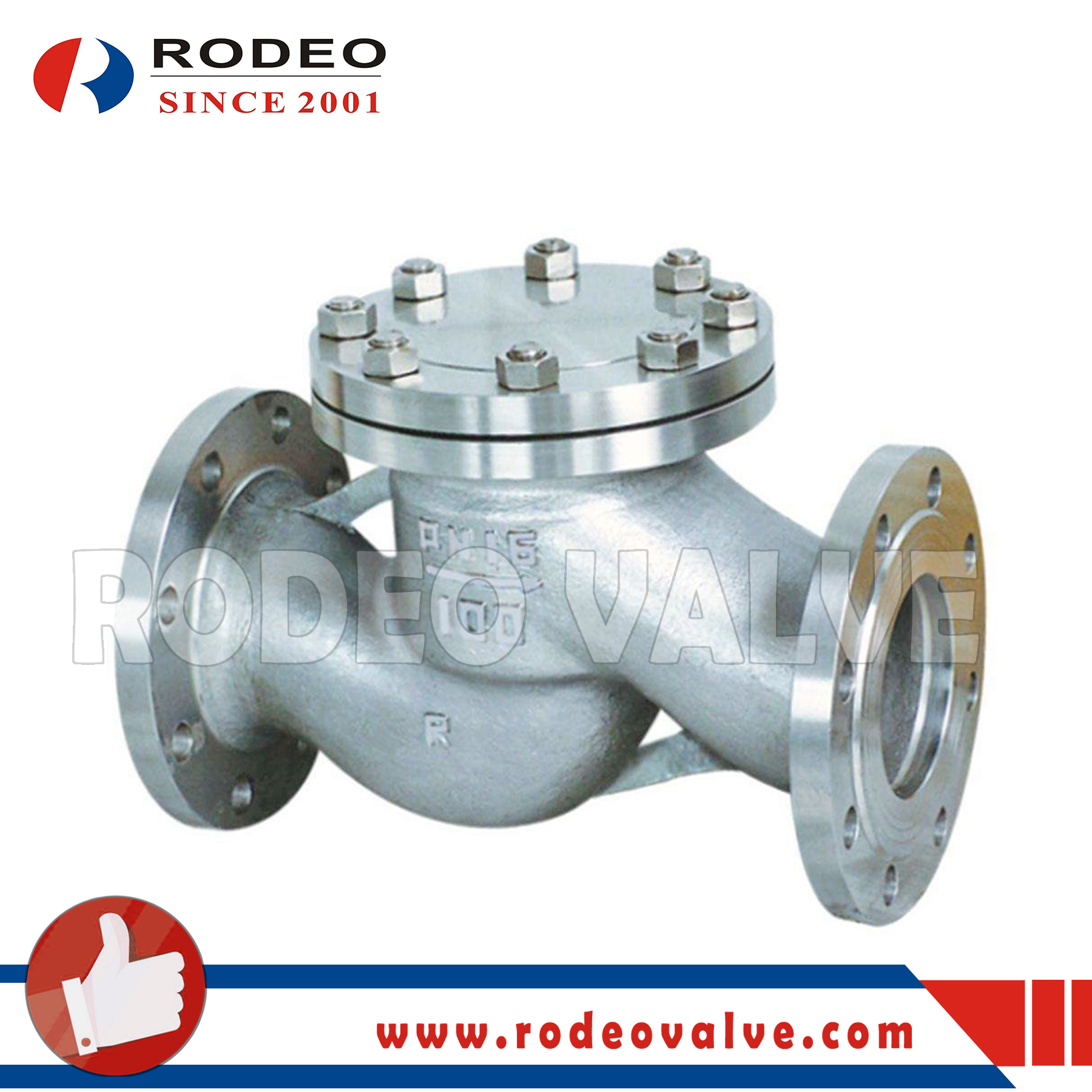 API 6D Lift Check Valve