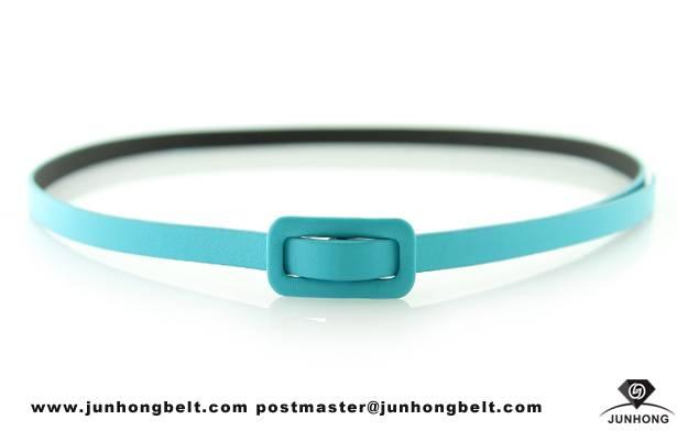 All-match fine womens fashion thin belts