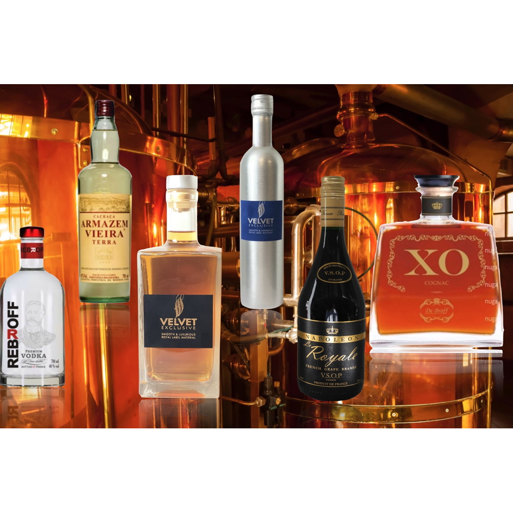 Brandy original french Cognac - XO , VSOP, VS