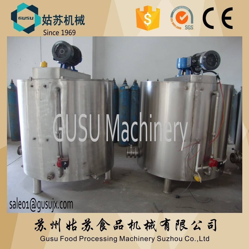 GUSU chocolate storage tank for processing store