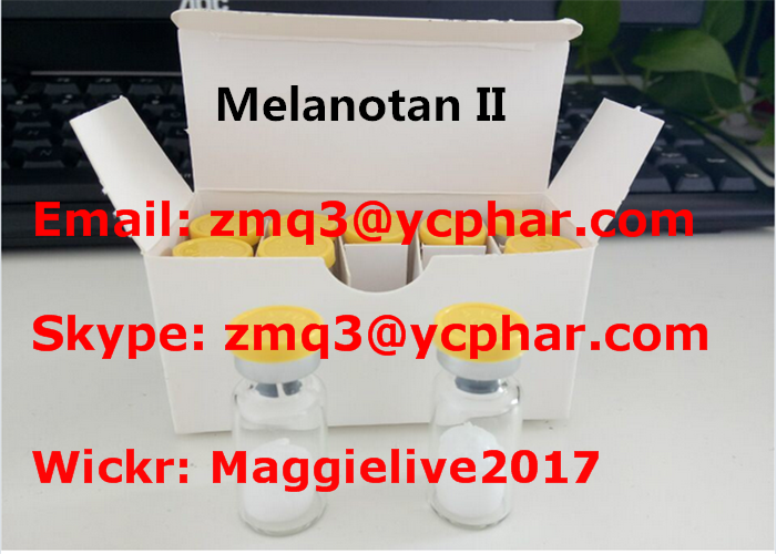 Human Growth Hormone Peptide Melanotan II For Muscle Building CAS 121062-08-6