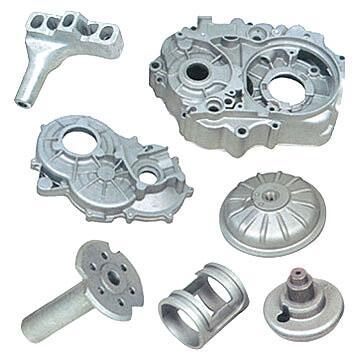 Aluminum Die Casting White Metal Casting Motor Parts