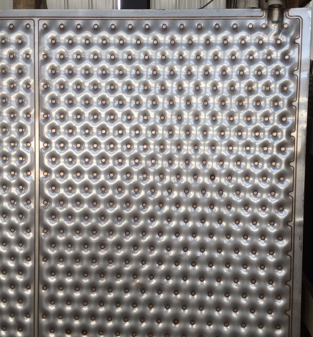 Embossed Design Stainless Heat Exchange Plate Drying Plate