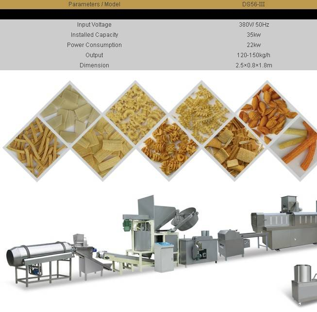 Fried Pasta Processing Line