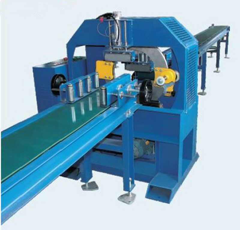 Stainless Steel Pipe Forming Machine, Pipe Bundle Wrapping Machine, Steel Tube Stretch Wrapping Mach