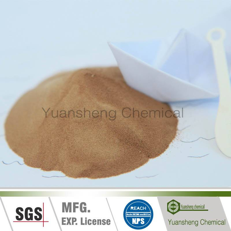 Yellow brown powder naphthalene based superplasticizer(FDN-A)