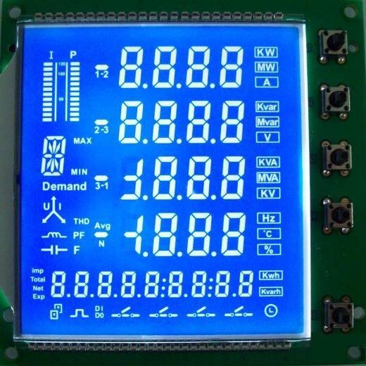 Custom LCD for Energy Meter