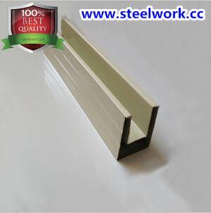 Color Coated Guide Slot/ Guide Rail/ Steel Channel for Roller Shutter Door