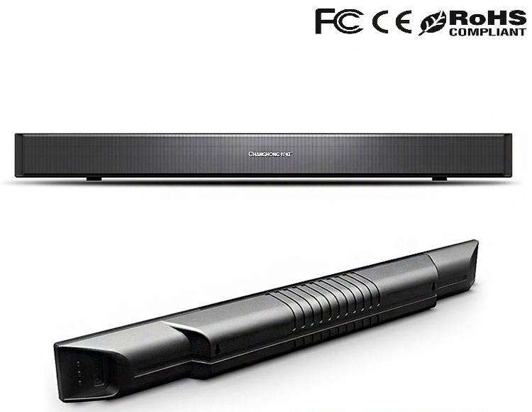 Home theater music system sound bar with bluetooth and subwoofer