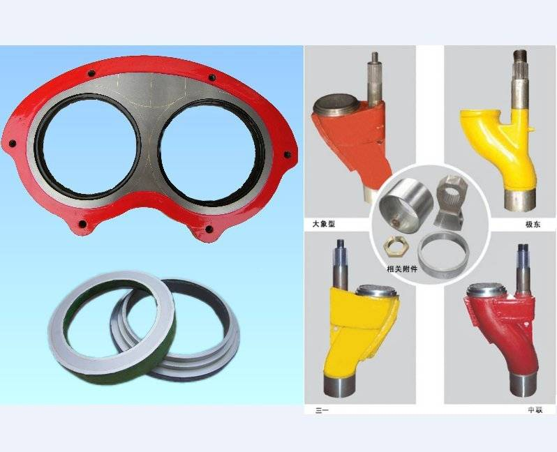 Concrete Pump Spare Parts Wear Spectacle Plate and Cutting Ring S Valve