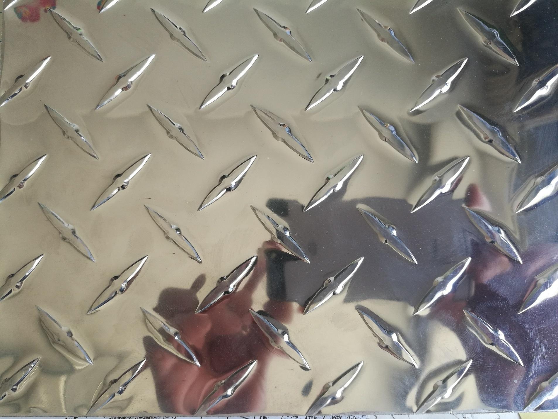 Aluminum tread plate