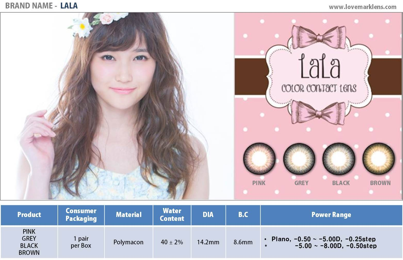 LALA Color Contact Lens