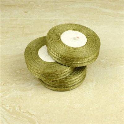 Gold/Silver Metallic Ribbon 2'