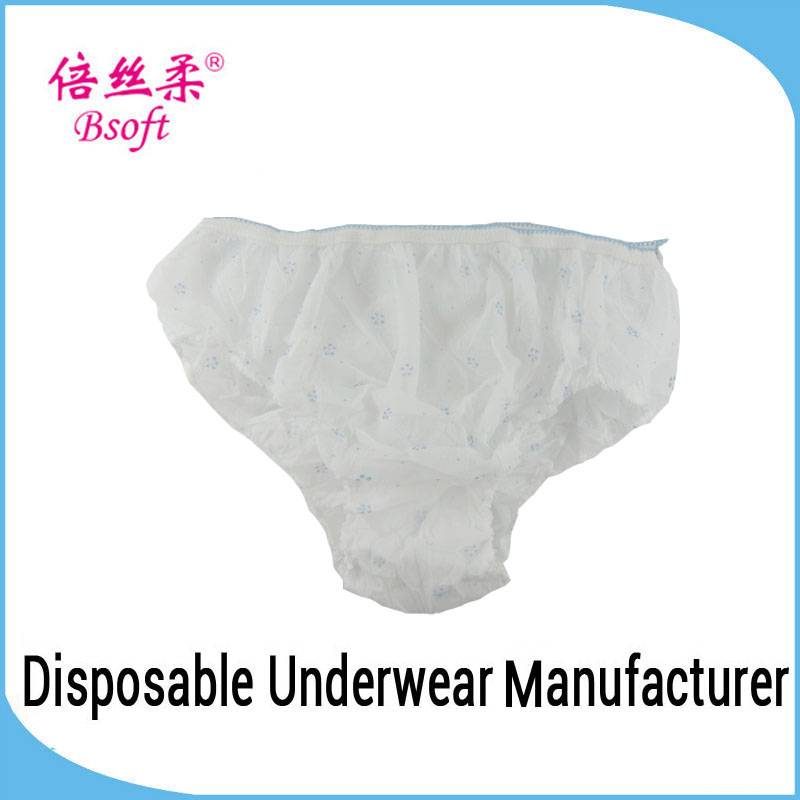 Best Quality Disposable Sexy Paper Underwear Chinese Wholesale Underwear