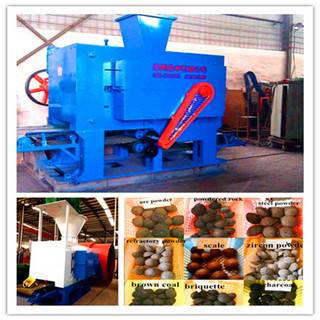 China CE and ISO Approved ANDYHQ360 1-2tph coal briquette machine