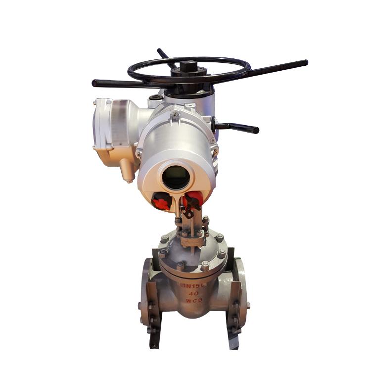 motorized modulating steam water gate actuator