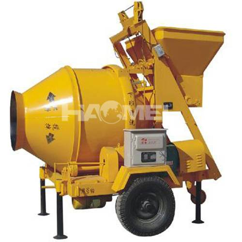 JS1500 electric motor concrete mixer