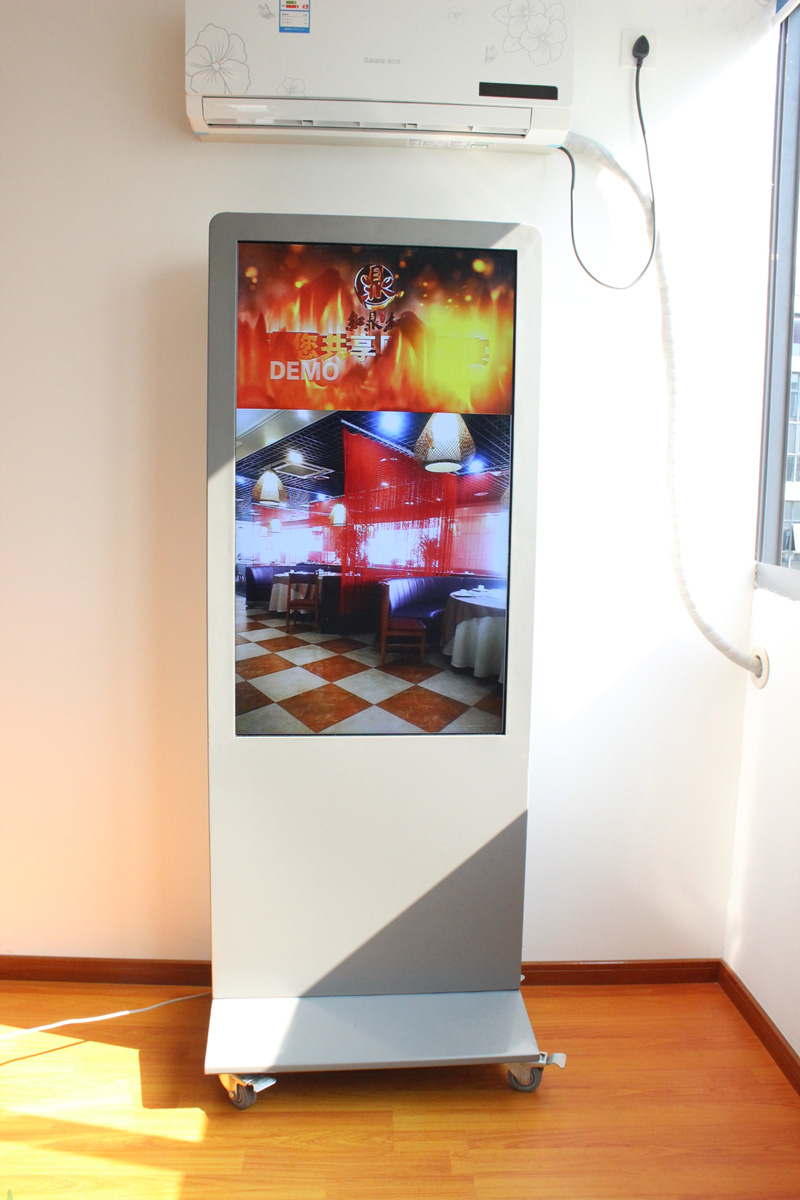"55"" interactive digital signage LCD display for indoor and outdoor street digital display"