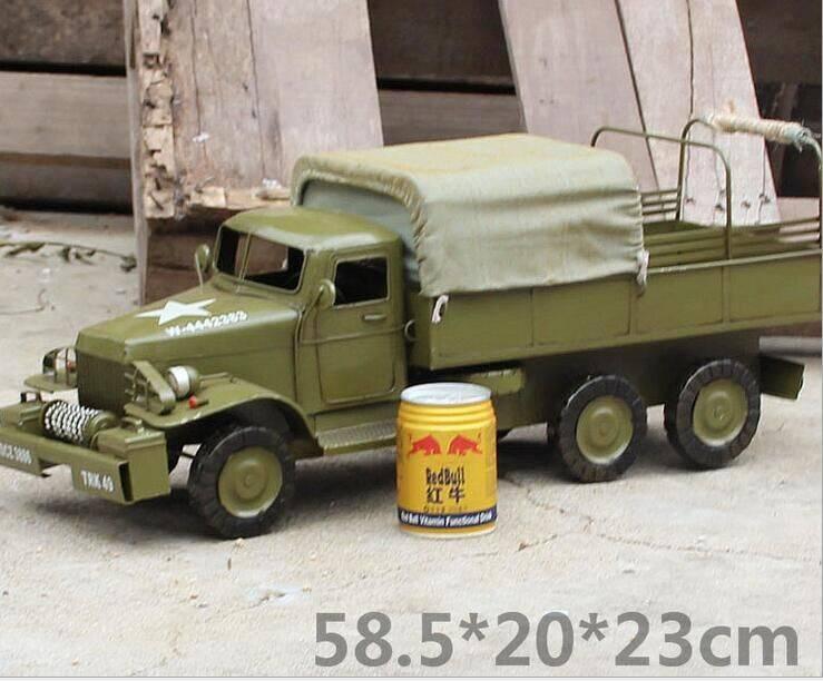metal tin Military Vehicle model