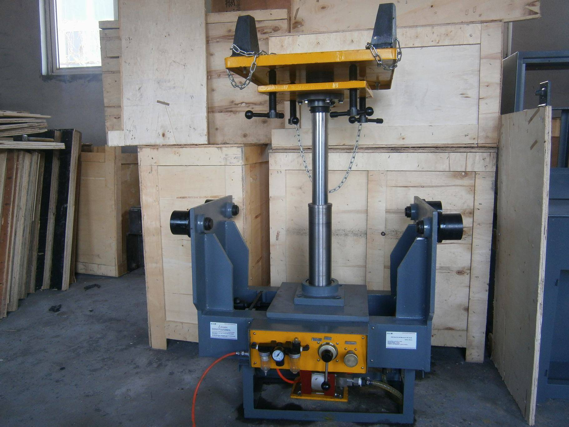 Two Stage Hydraulic Suspended Transmission Pit Jack - pit lift 1ton 2ton 3ton 5ton
