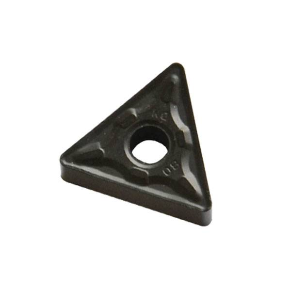 Cemented carbide NC blade Triangle with hole