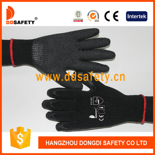 Knitted with latex glove-DKL338