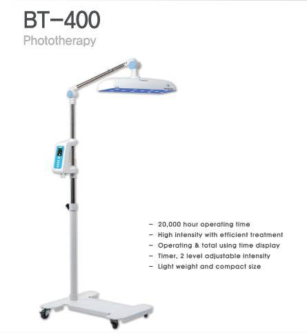 BT-400 Phototherapy device.