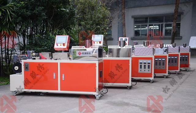 Plastic 3D Printer PLA / ABS Filament Extrusion Machine / Production Line with diameter 1.75mm or 3m