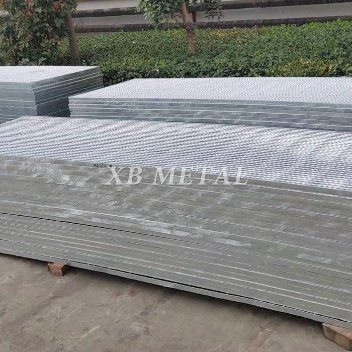 Metal Building Materials Galvanized Steel Bar Grating Walkway Price For Construction