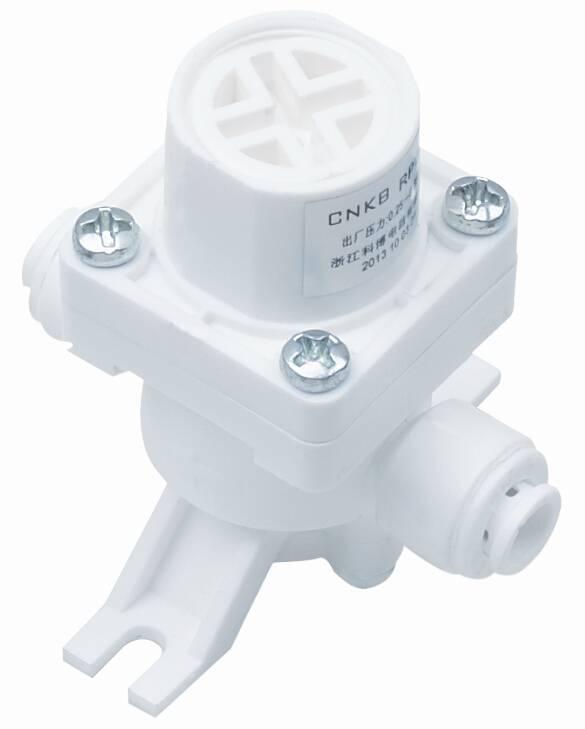 Pressure limit valve for RO machine and water purifying machine
