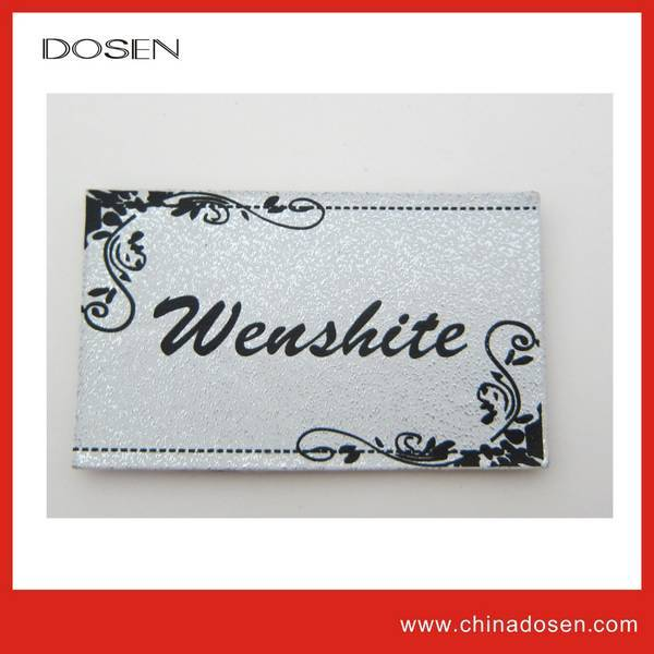 fashion label wholesale leather label