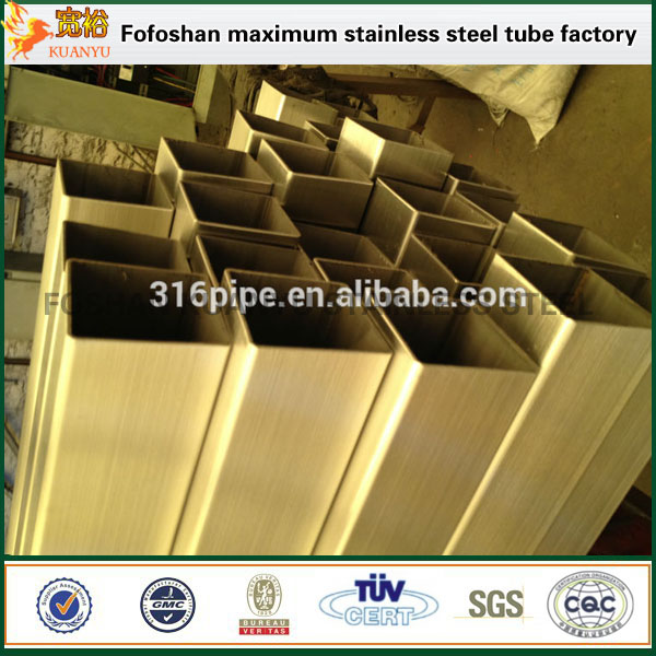 TP 304 Inox Square Hollow Steel Tube/Pipe