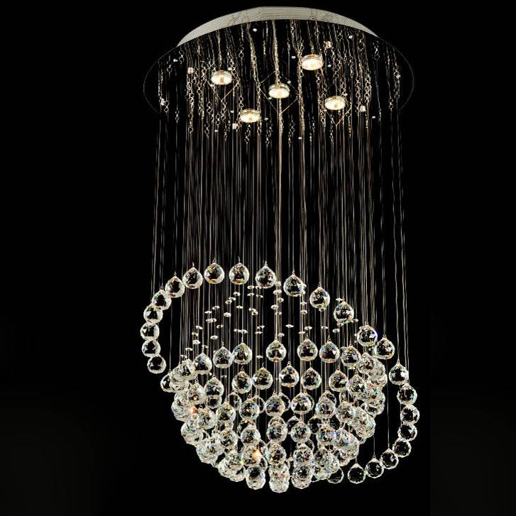 good quality and competitive price of modern crystal ceiling lamp/light 6005-5