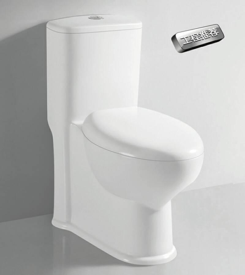 TA-8153A Sanitary Ware Dual Flush Siphon Jet Flushing One-piece Ceramic Closet