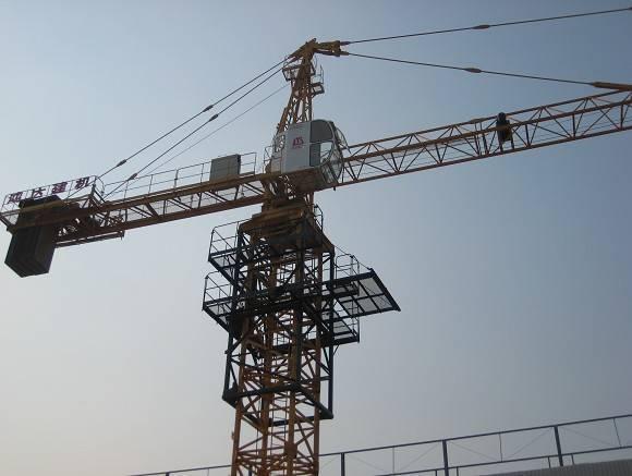 QTZ100A tower crane