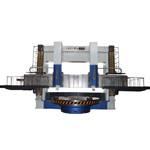 CNC double columns vertical lathe DVT series