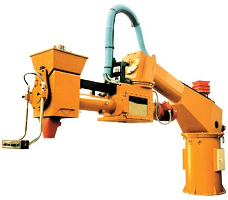 Double arm resin sand mixer machine