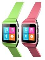 MP4 Watch with FM, Bluetooth, Pedometer
