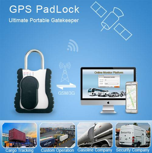 gps track lock for container