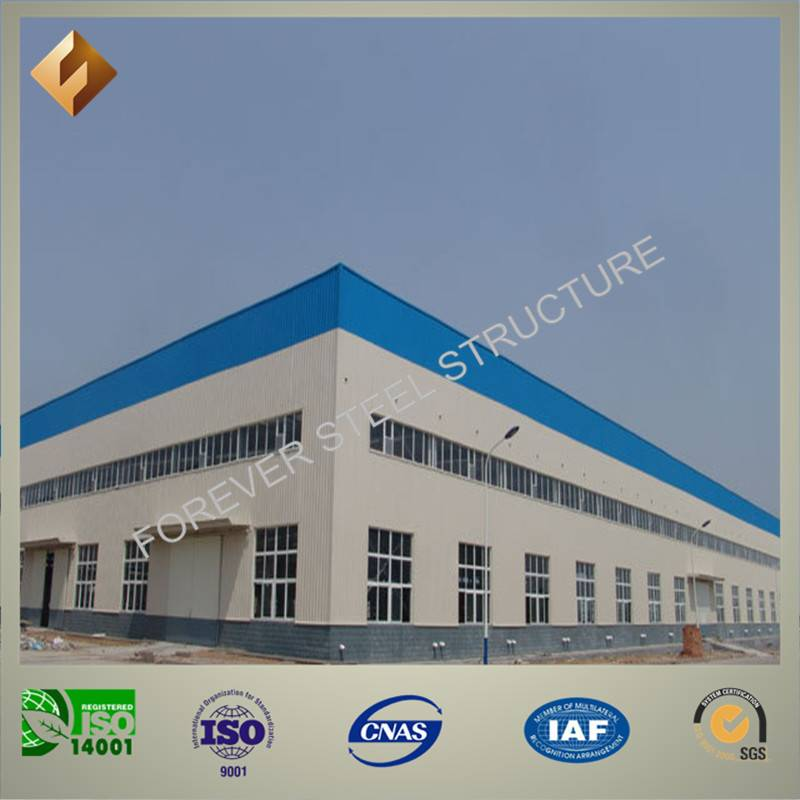 prefab light Steel Structure for Warehouse