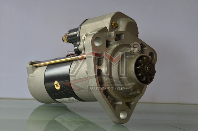 YTM C6.624V 10T 7.5KW heavy duty truck engine starter motor for E323D2