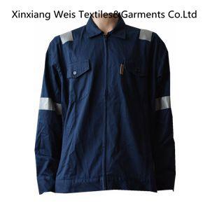 Navy Blue Flame Retardant Jacket / Arc Flash safety Jacket