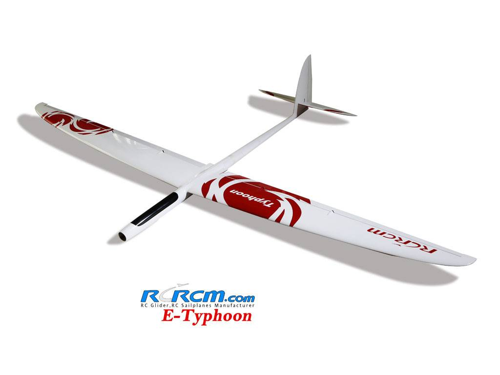 Typhoon-rc composite glider