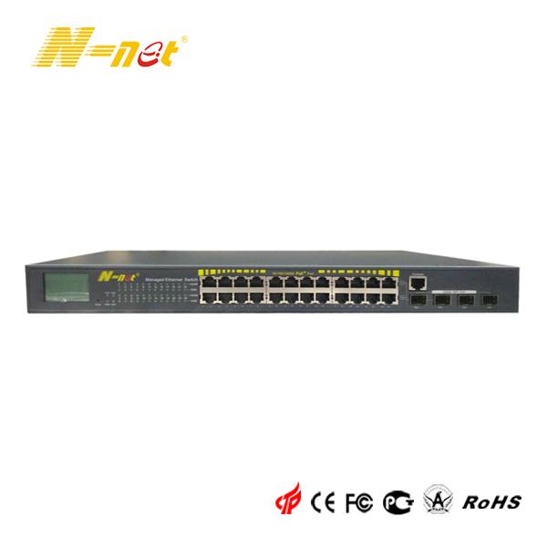24 Ports Managed Gigabit POE Switch