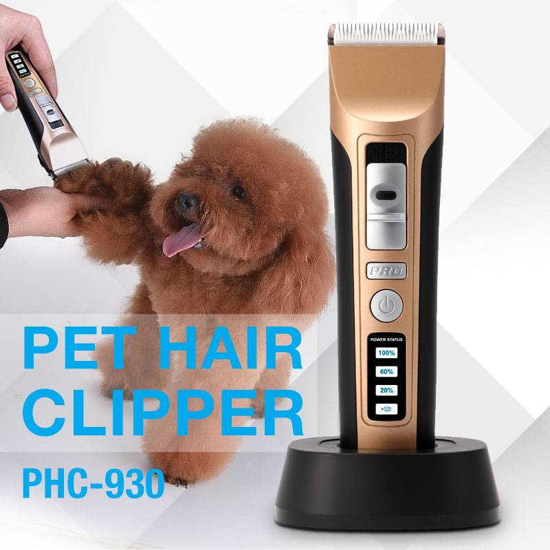 the most efficient ceramic blade rechargeable and cordless pet hair clipper