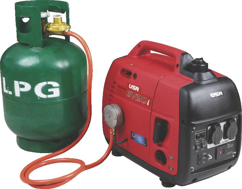 LPG inverter generator EV20i-LPG 2kW