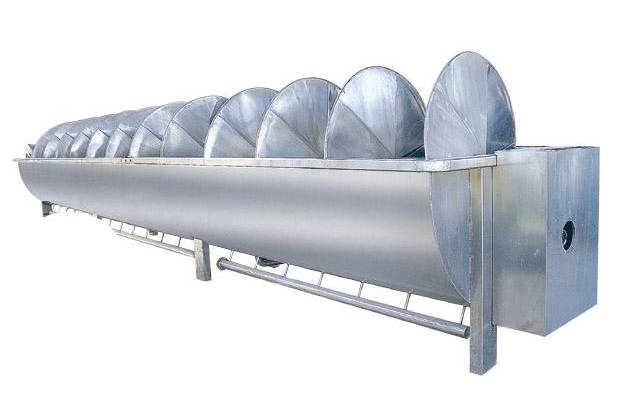 Automatic Poultry Screw Chiller Machine