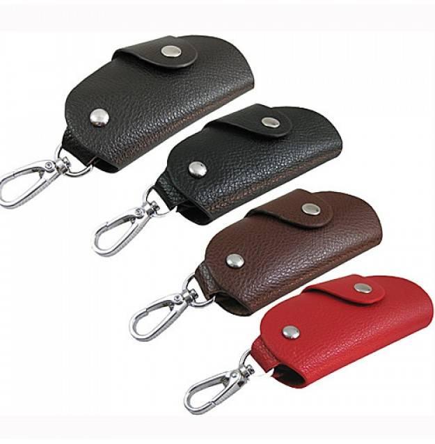 Leather car key wallet,men's key holder 1021